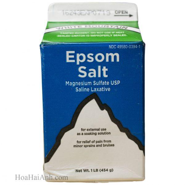 Muối Epsom nguyên chất Hà Nội - White Mountain