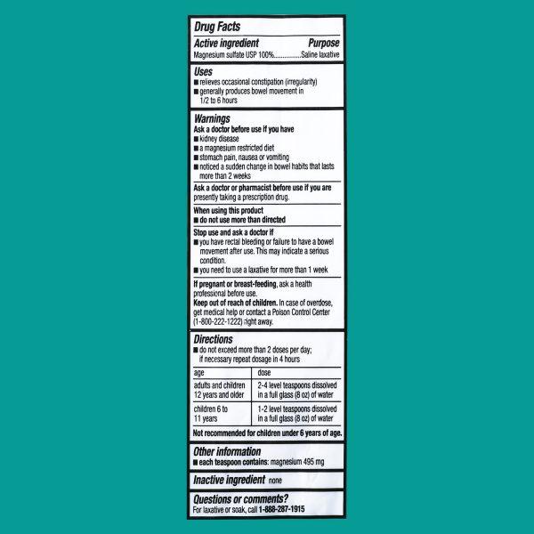 Muối Epsom nguyên chất – Equate – 1lb (454g)
