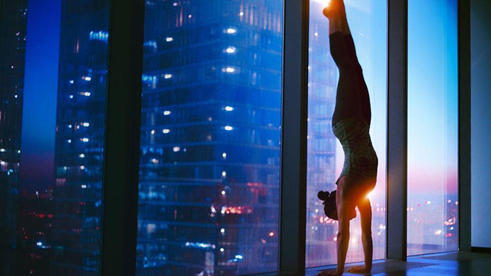 Tập yoga buổi tối rất có lợi cho sức khỏe
